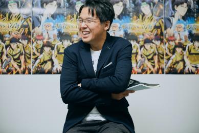 川口監督の画像